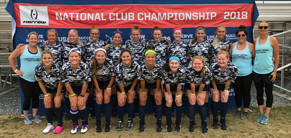 FIELD HOCKEY CLUB FINDING SUCCESS ON NATIONAL STAGE